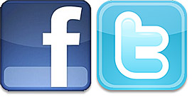 Twitter & Facebook Links